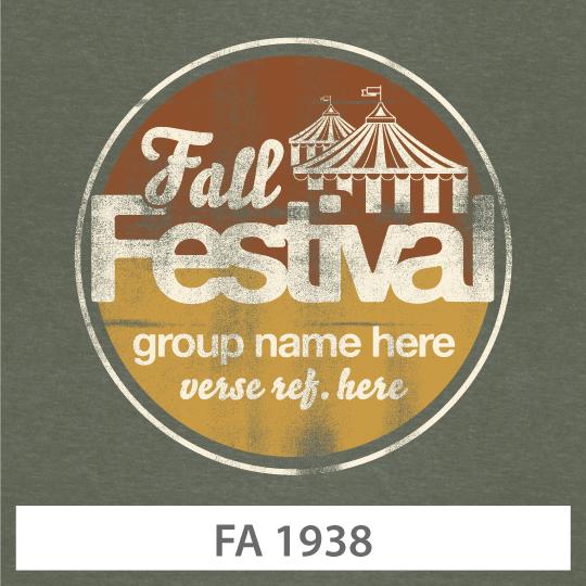 Fall Retreat T-shirt Design