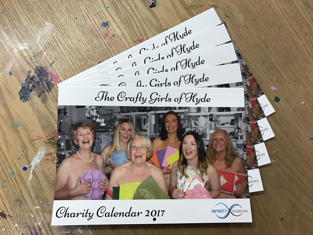 The Crafty Girls of Hyde Charity Calendar 2017