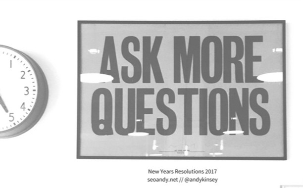 "TOWARDS THE END OF LAST YEAR I ASKED CLIENTS I WORKED WITH A SIMPLE QUESTION ""WHAT ARE YOU STRUGGLING WITH?"" - the answer was fairly universal and has resulted in these 5 #newyearsresolutions for #smallbiz and #socialenterprises - it's time to make #2017 get off with a big bang - https://www.seoandy.net/blog/ideas-social-enterprises"