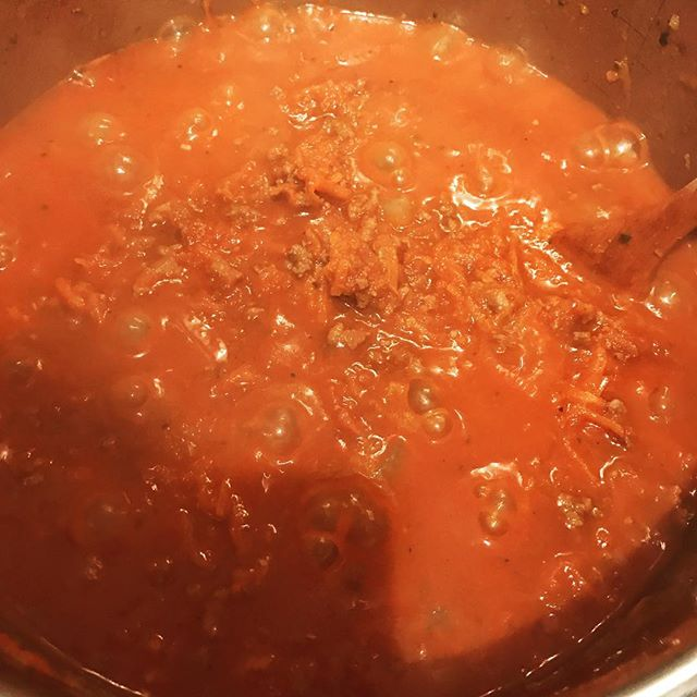 #ragu time to #cook for me. Smells yum if I do say so myself.