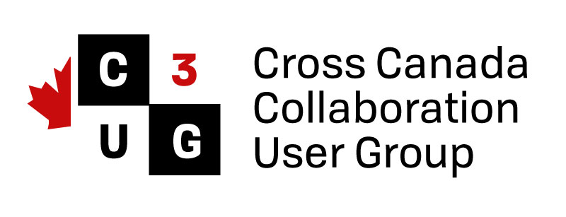 Cross Canada Collaboration User Group