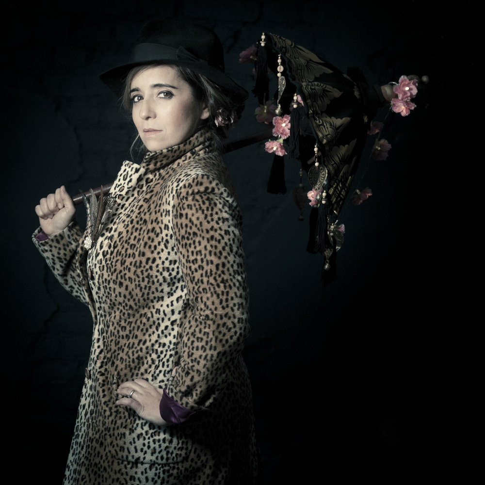 A leopard skinned Poppins? Photo Amy Gibson, Studio Corderie