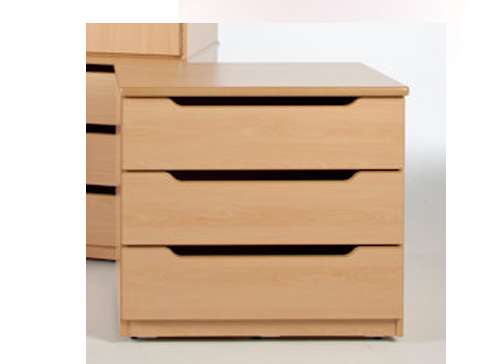 3 DRAWER CHESTS -