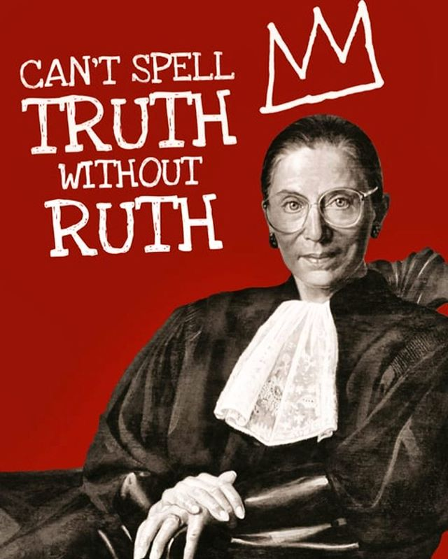 Happy Fourth of July! ❤️ Let's share our love and remember our strength! 🙌 #myqueen #notoriousrbg #ruthbaderginsburg #rbg #onenationforall #independenceday #equality #justiceruthbaderginsburg #👸🏻 #👑