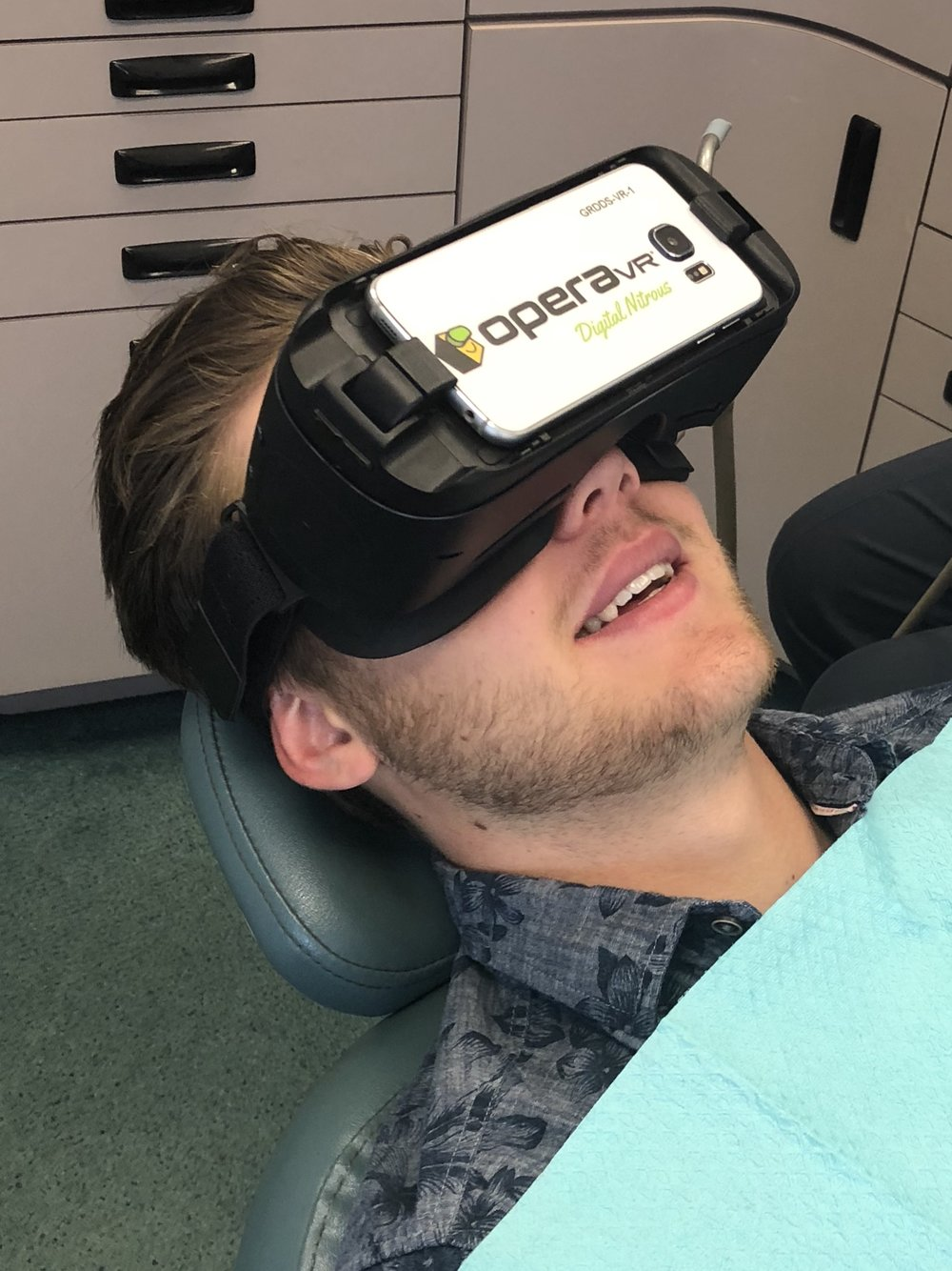 """""""It gave me something peaceful to concentrate on, instead of the procedure that I was having done, which made the time go much faster. I really enjoyed it and would highly recommend it to anyone who doesn't like being in the dental chair.""""   -Hunter H."""