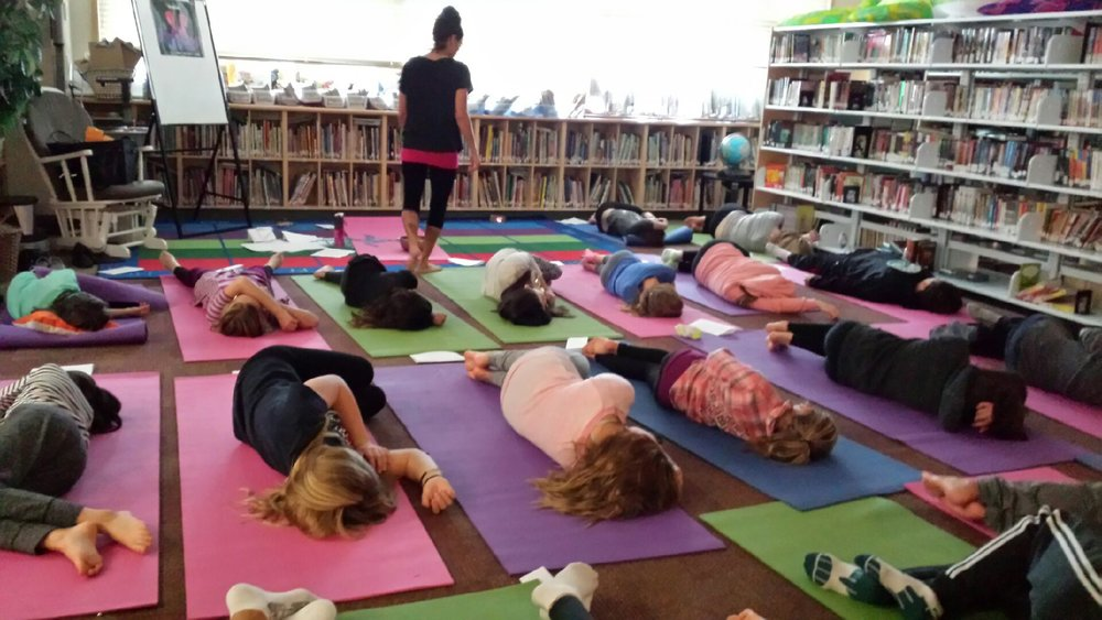 "Ahhhhhhhhhhhhhh.......... relaxation .........these amazing, inspiring children are practicing the art and science of mindful deep breathing and the body scan. They understand.  They ""get it"" .  These insightful little people practice in ways that teach me everyday.... I LOVE IT!"