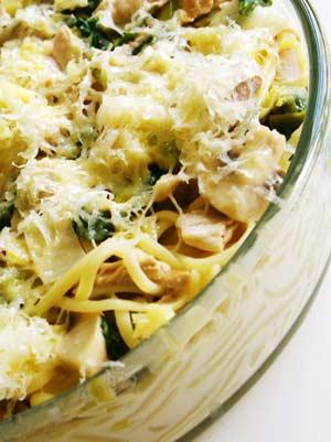 recipe: mushroom and leek pasta [27]
