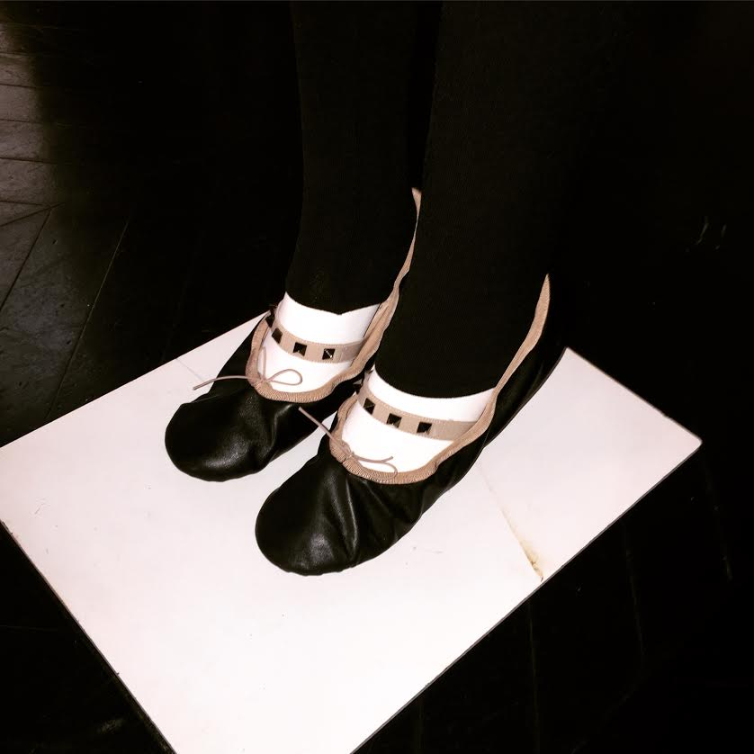 My favorite from the collection! I think rockstud ballet flats will be a big trend in the fall.