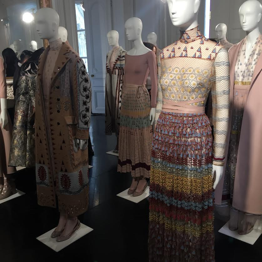 Valentino Fall 2016 Collection Preview - Tiny geometric shapes.