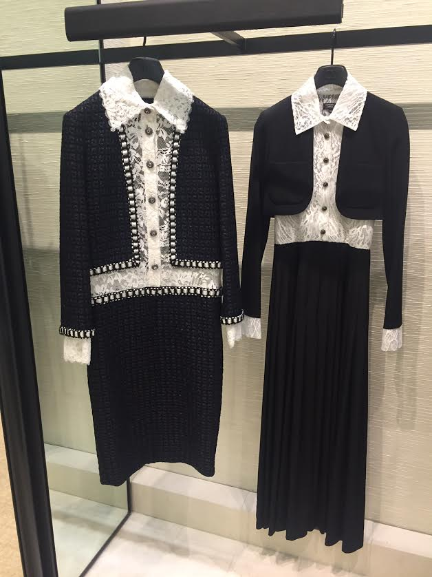Garments fron the Chanel Pre Fall 2016 collection.