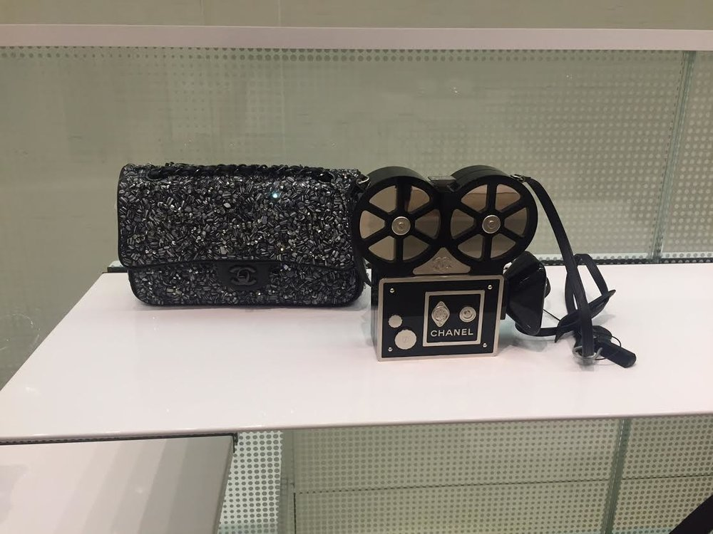 A Chanel handbag from the Chanel Pre Fall 2016 collection.