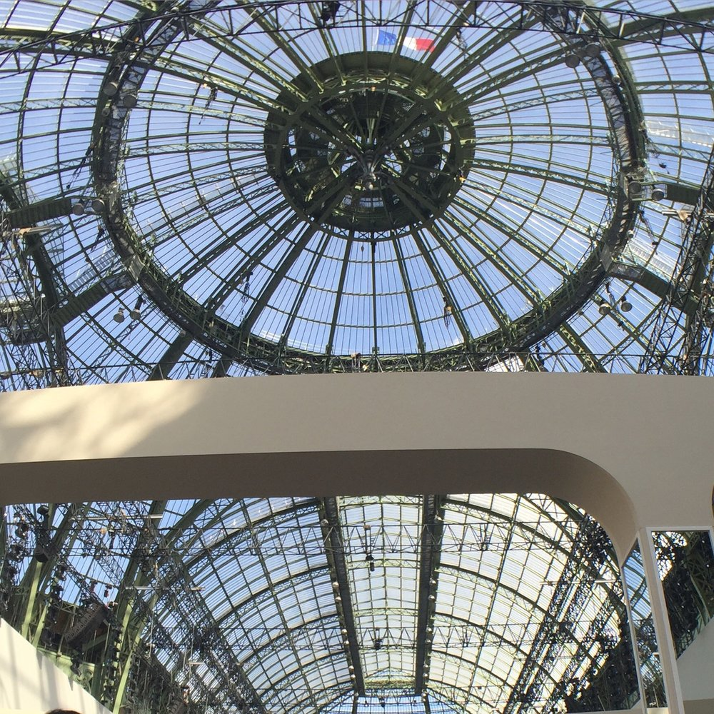 The Fall 2016 collection was presented at the Grand Palais