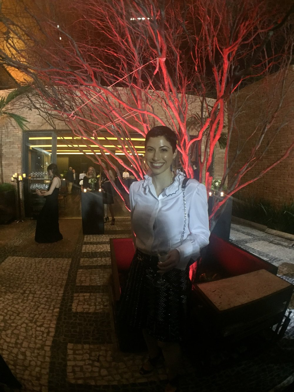 Louis Vuitton Cruise 2017 Rio de Janeiro - For dinner, we went to the Rubaiyat Rio which is located at the Jockey Club.