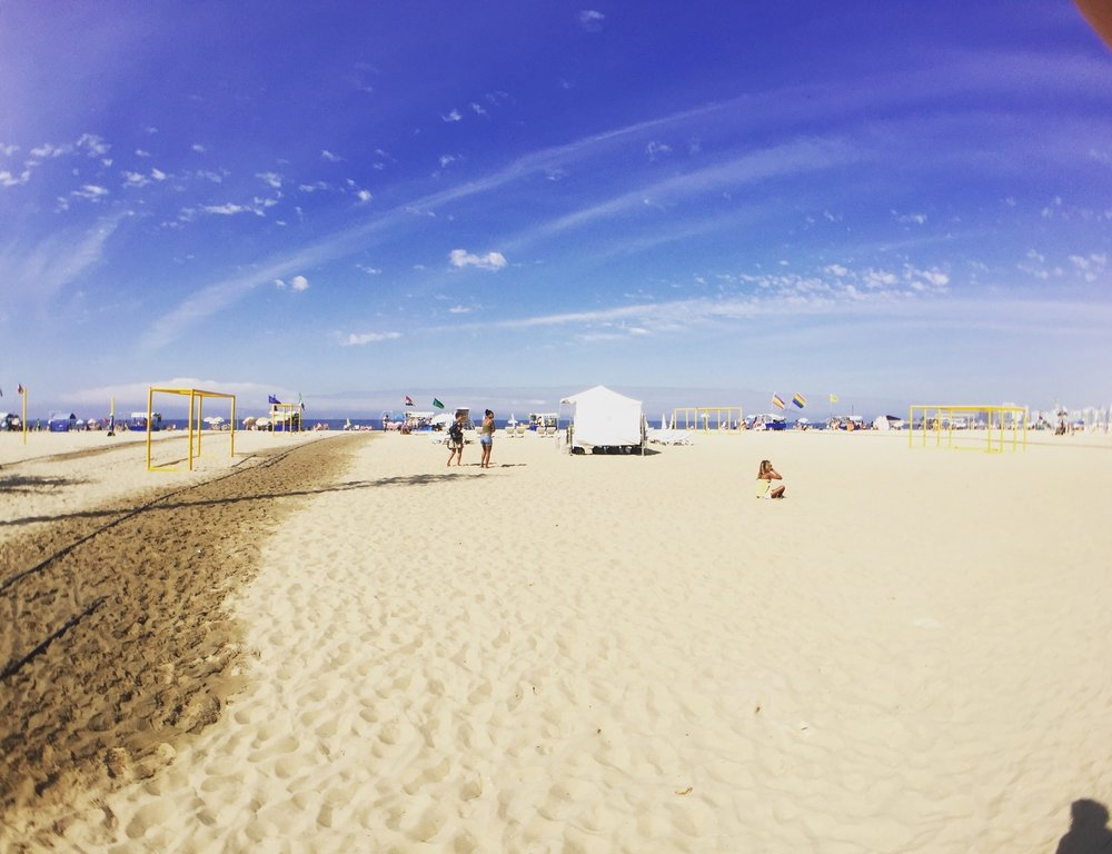 I even had time to make it to the famous Copacabana beach!