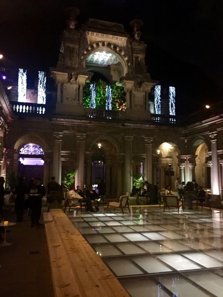 After the show, there was an after party at Parque Lage