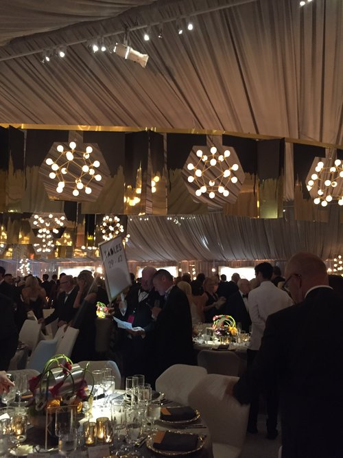 The San Francisco Symphony Opening Night Gala - Love the atmosphere in the tent