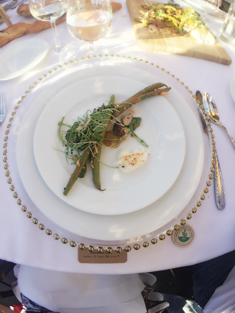 Smoked Summertime Green Beans at the Tower Bridge Dinner in Sacramento.