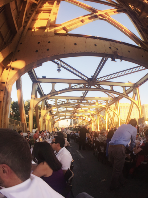 Tower Bridge Dinner in Sacramento.