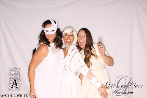 Photo booth fun with Stefanie Manolakas and Sandra Kordazakis