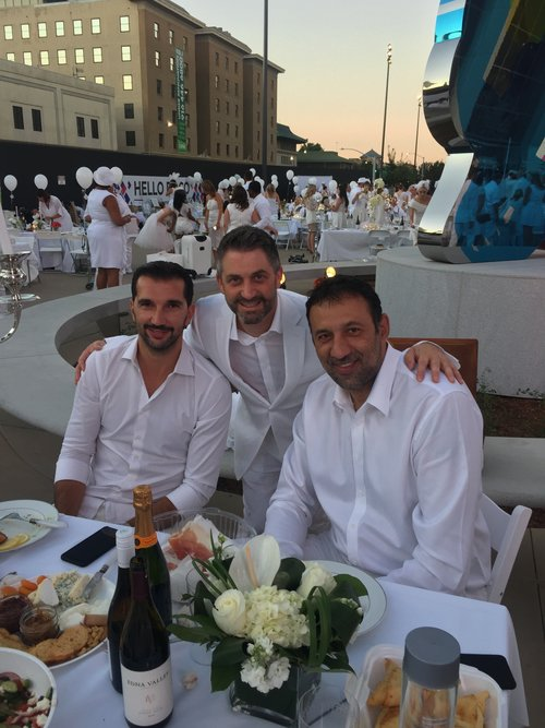Dean with Peja and Vlade