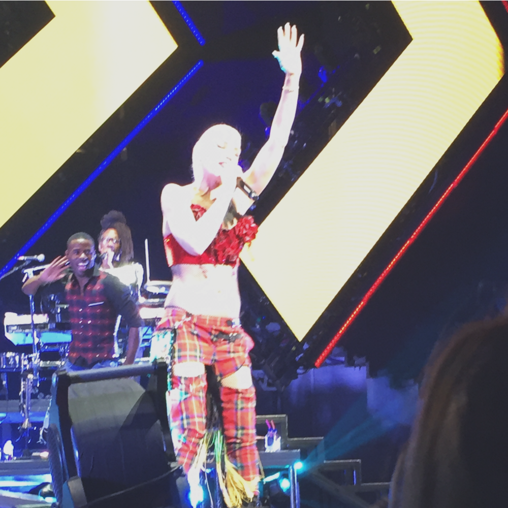 Gwen takes the stage at the Royal Gala 2016.