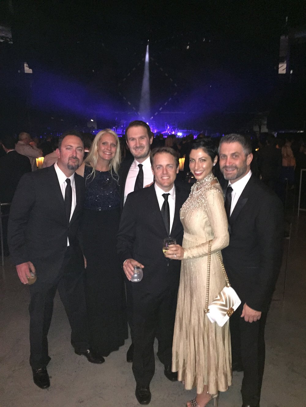 Chrisa Pappas with other guests at the Royal Gala 2016.