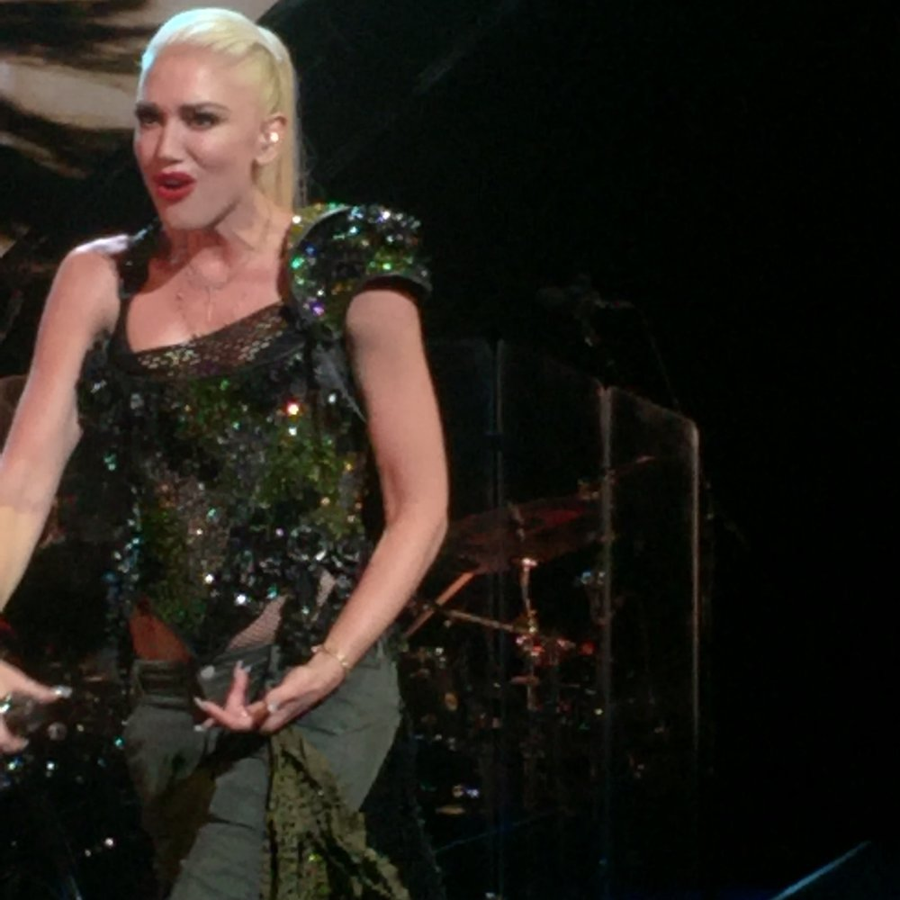 Gwen Stefani takes the stage at the Royal Gala 2016.