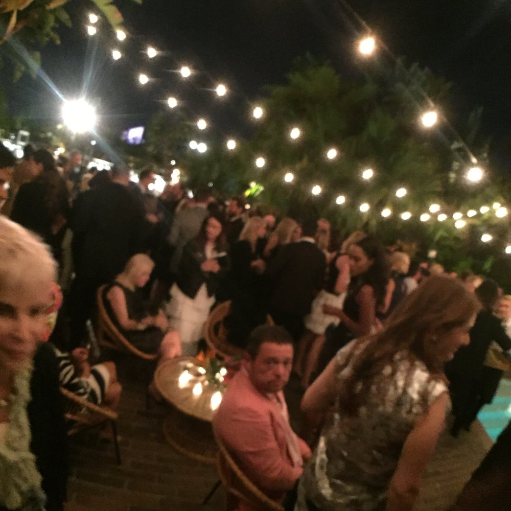 The Chanel Cuba Party at Chateau Marmont.
