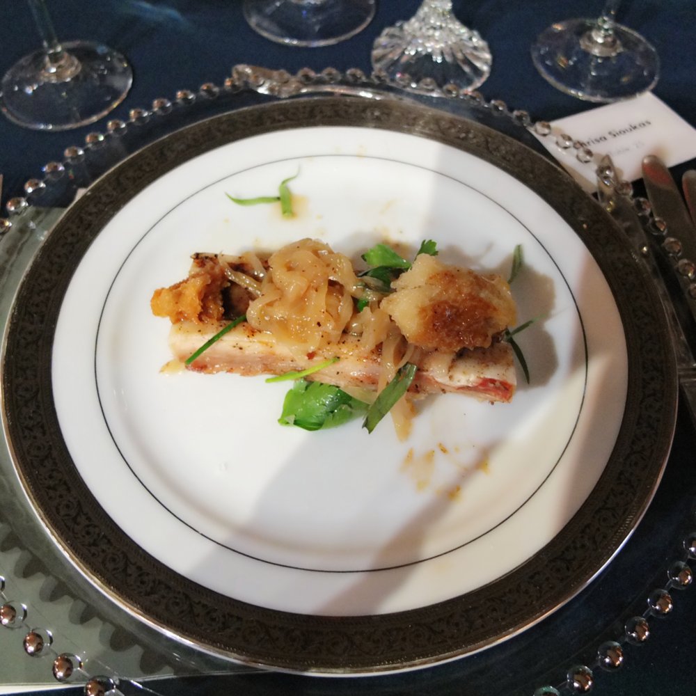 Delightful food at the 54th Annual Crocker Ball