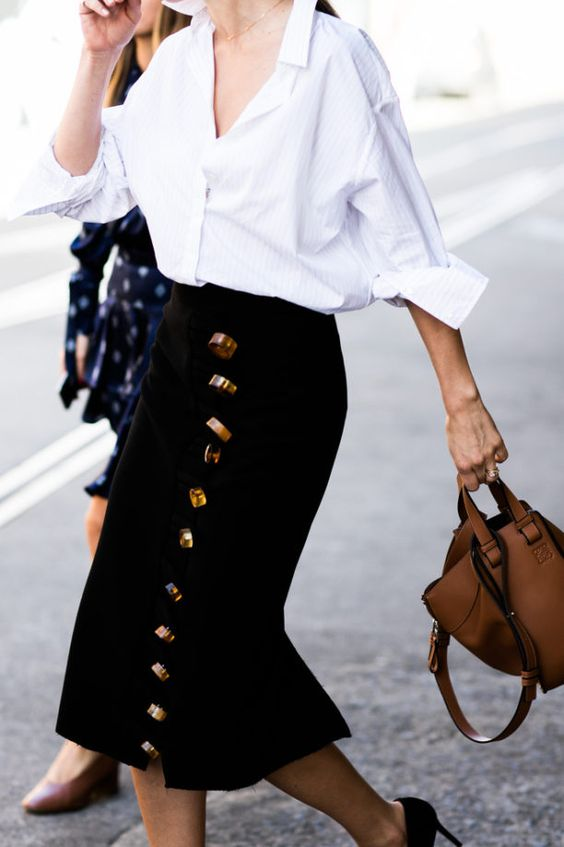 BUTTON DOWN SHIRT GLAMOROUS HIPPE