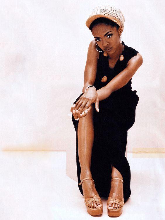 LAURYN HILL BLACK DRESS AND NATURAL SANDALS.jpg