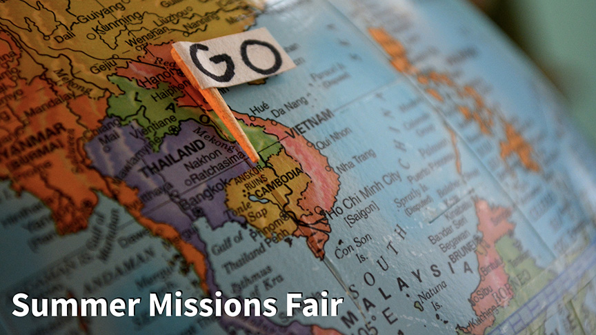 Summer Missions Fair 2.12