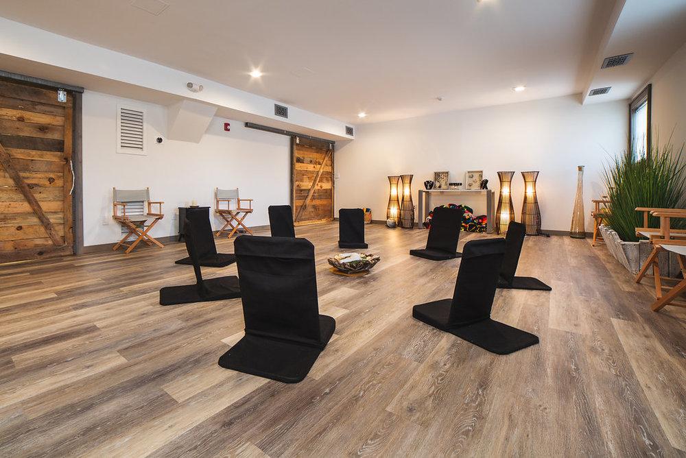 yoga event workshop learning group support art meditation community room