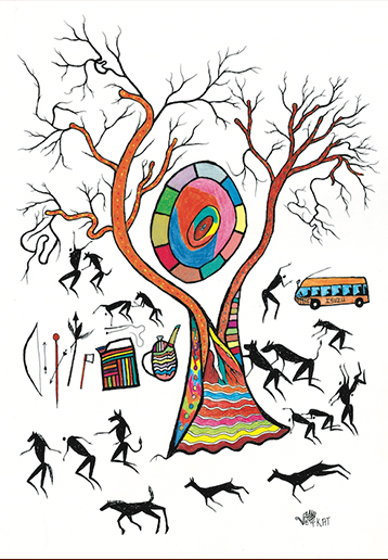 Artwork by Vetkat Kruiper