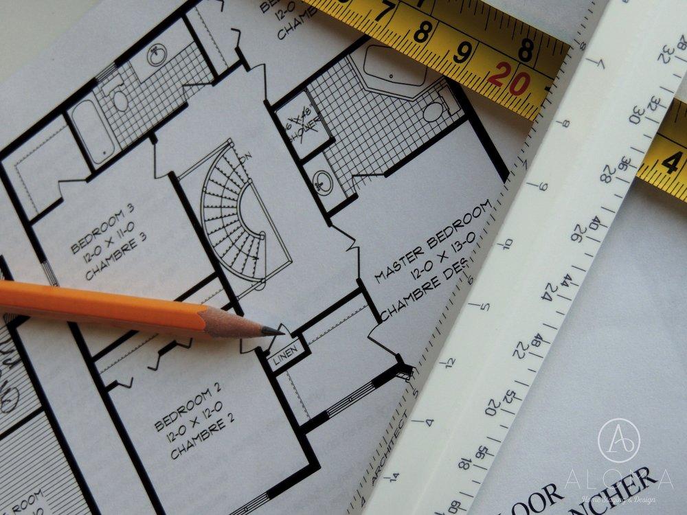 Floor Plans- Aloma Home Staging & Design