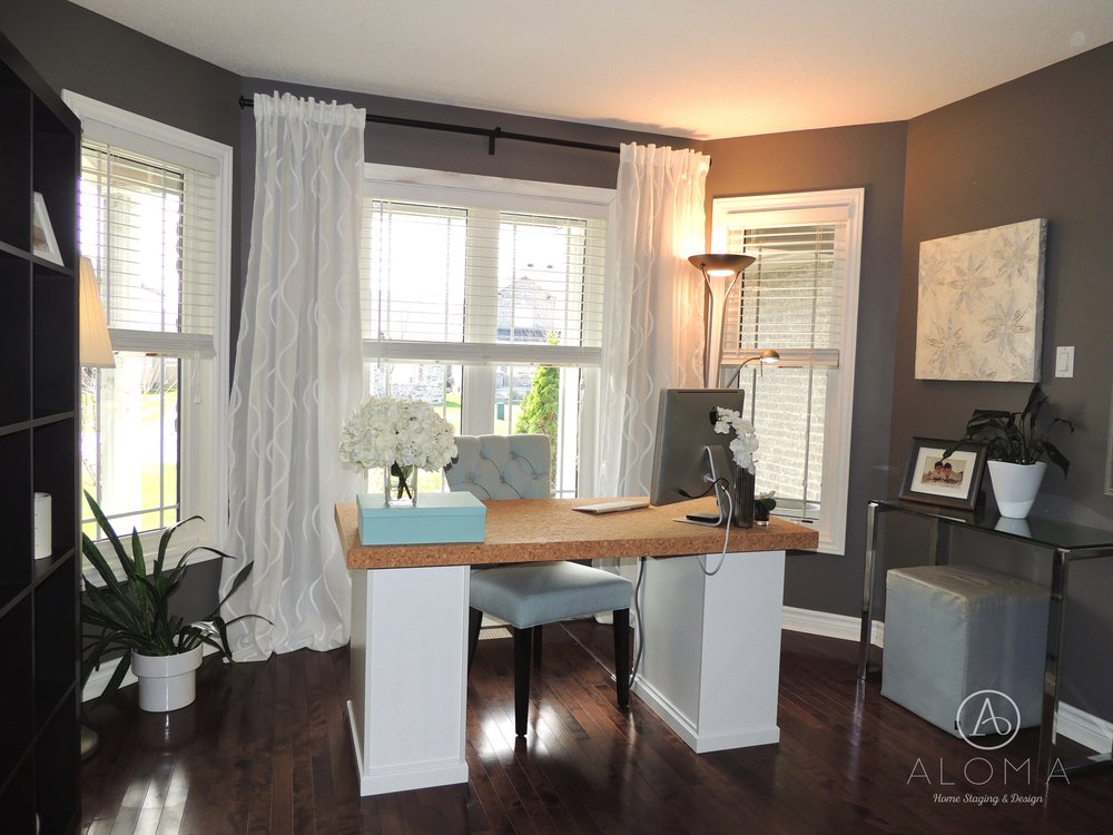 after living roomoffice aloma home staging design - Home Staging Design
