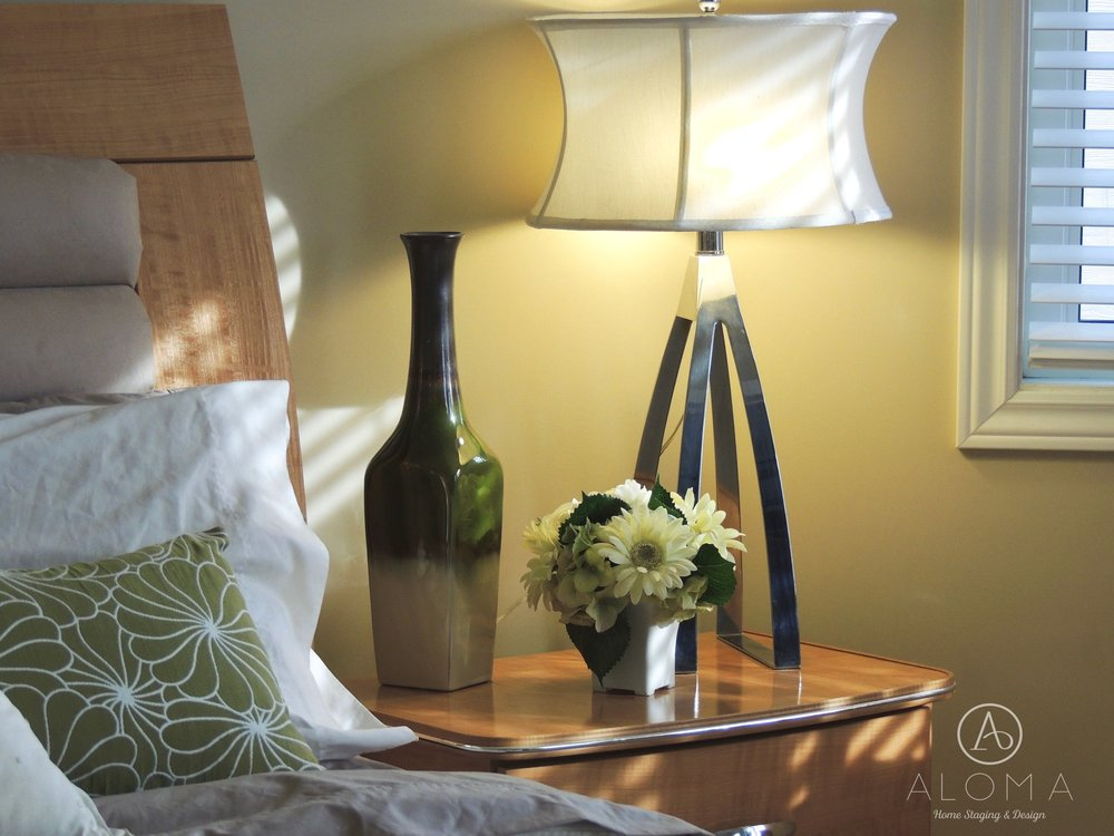 Green Accessories by ALOMA Home Staging & Design