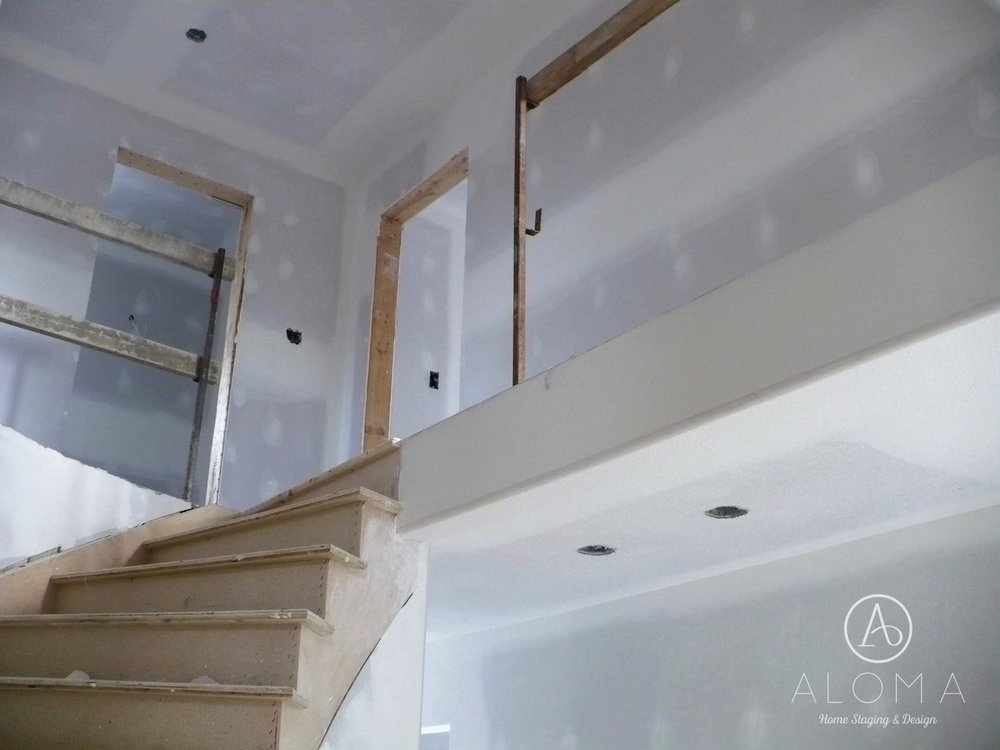 Renovation in progress...by Aloma Home Staging & Design