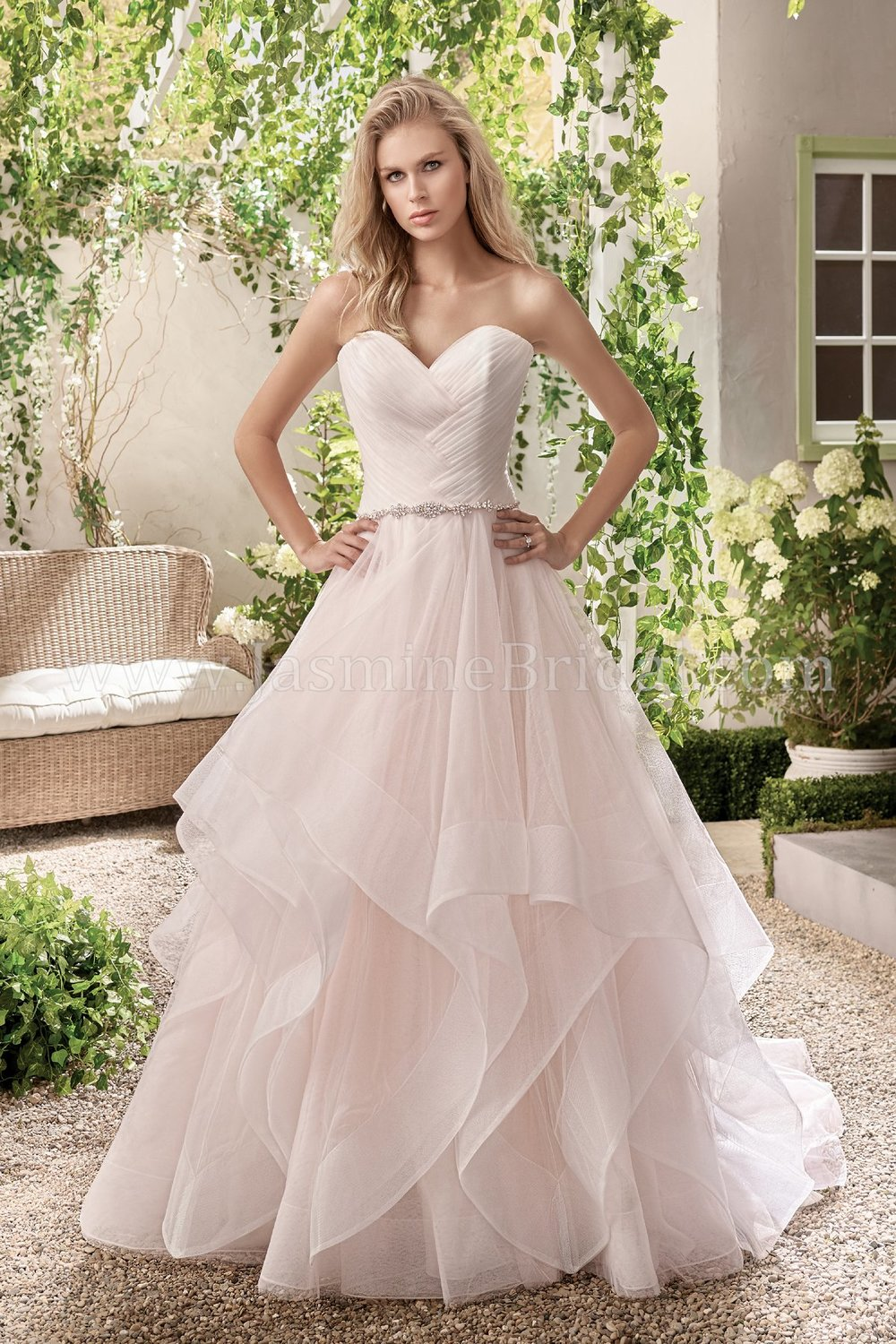 Jasmine Bridal 191004  size 10             Call for Pricing