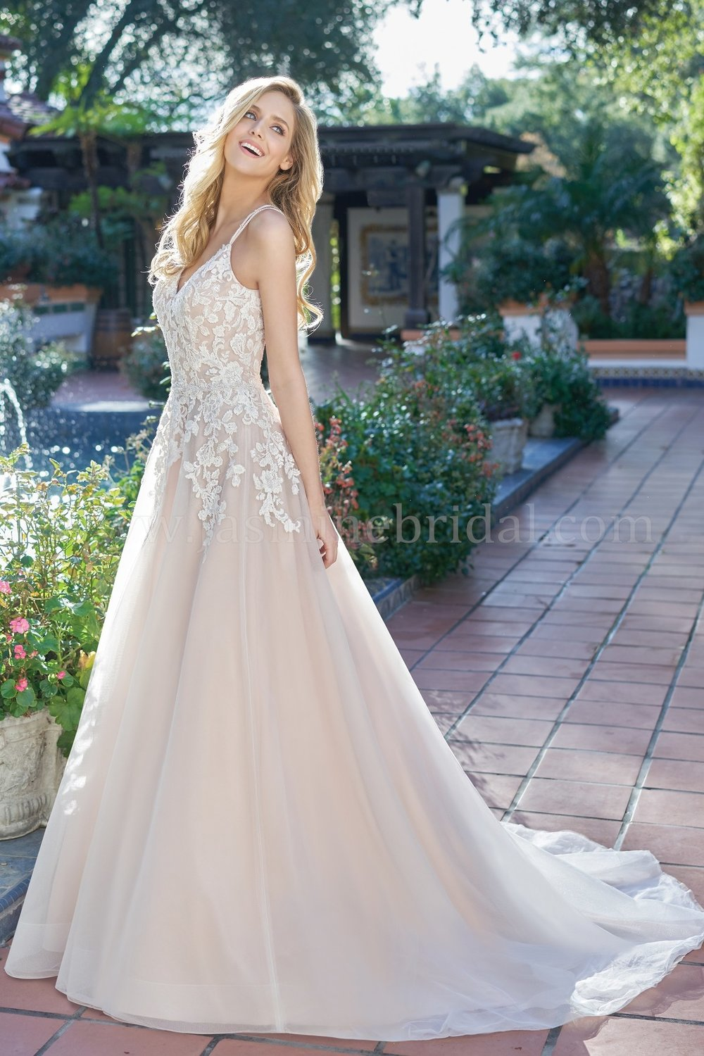 Jasmine Bridal 201066  size 12              Call for Pricing