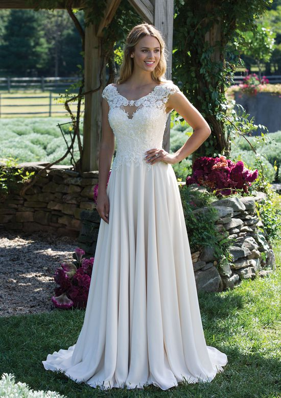 Sincerity Bridal 3983  size 16             Call for Pricing