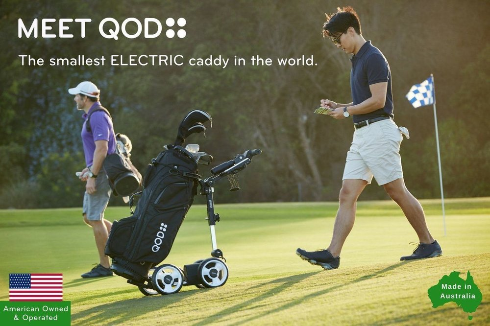 For the golfer in your life who loves to walk the course but is tired, literally, of carrying a bag around or pushing a card for 18 holes, and enduring the accompanying aches and pains, the QOD electric caddy may be the answer. More compact than any other available cart, it's quiet, easy to use, and a charge lasts for 36 holes. Help your golfer avoid the discomfort and enjoy their game more.  https://qodgolfusa.com