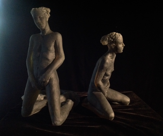 Untitled (Schiele figures)