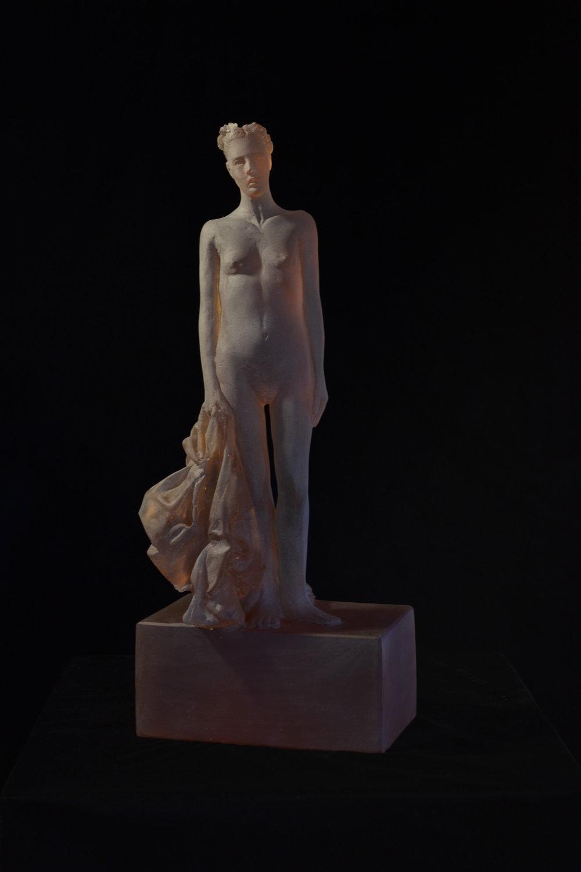 Untitled (rhubarb figure)
