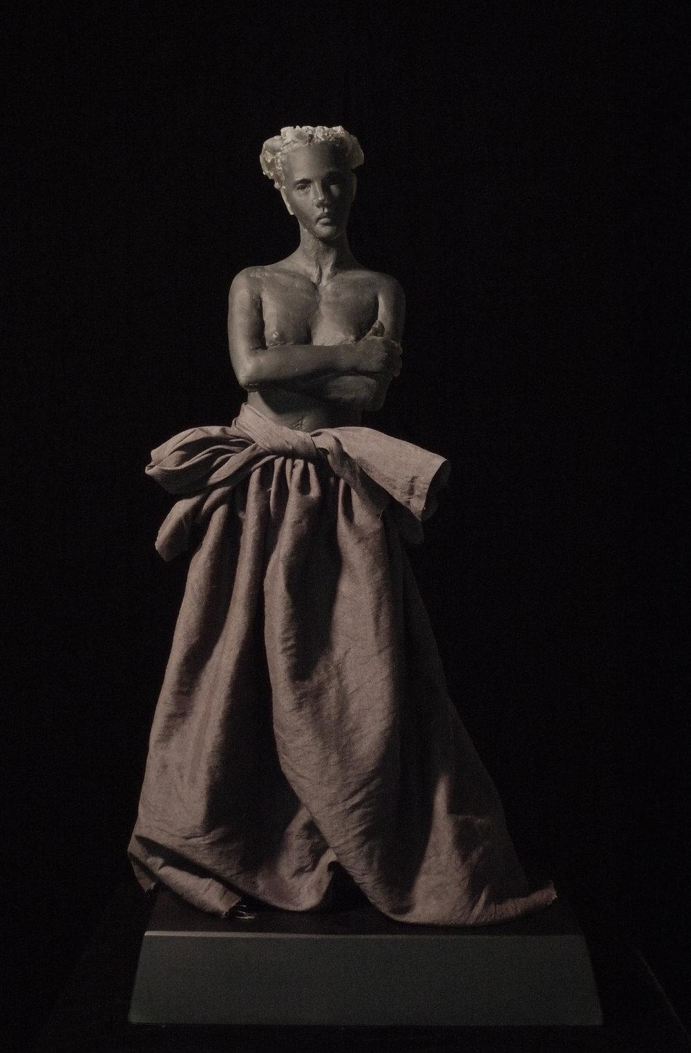 Untitled (woman in linen dress)