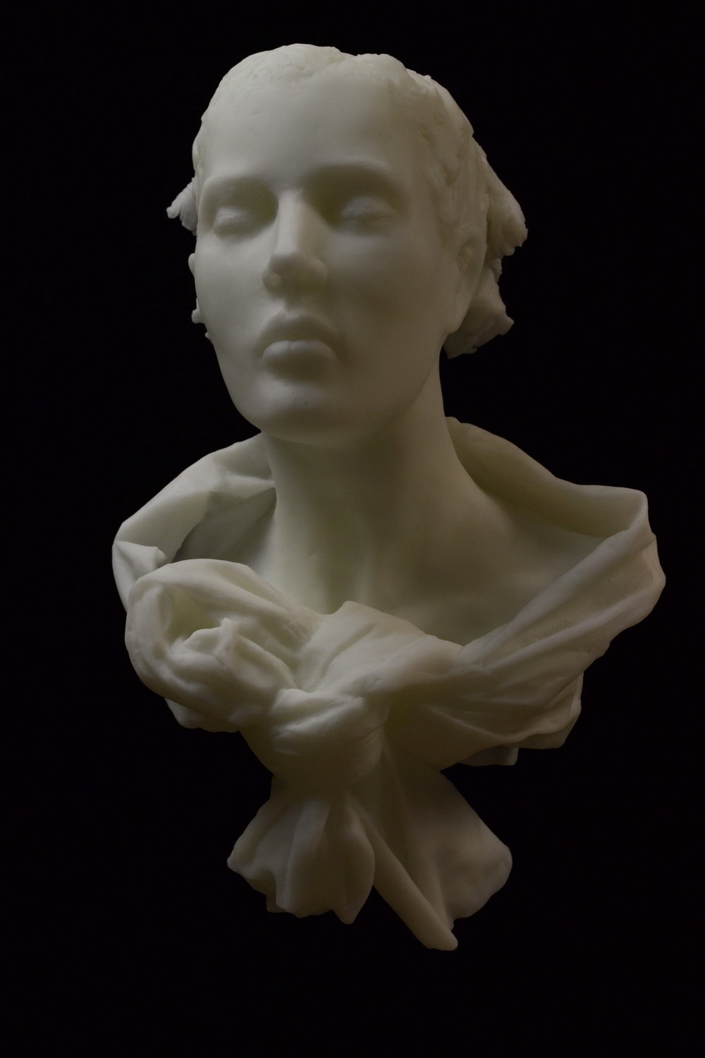 Untitled (white bust)