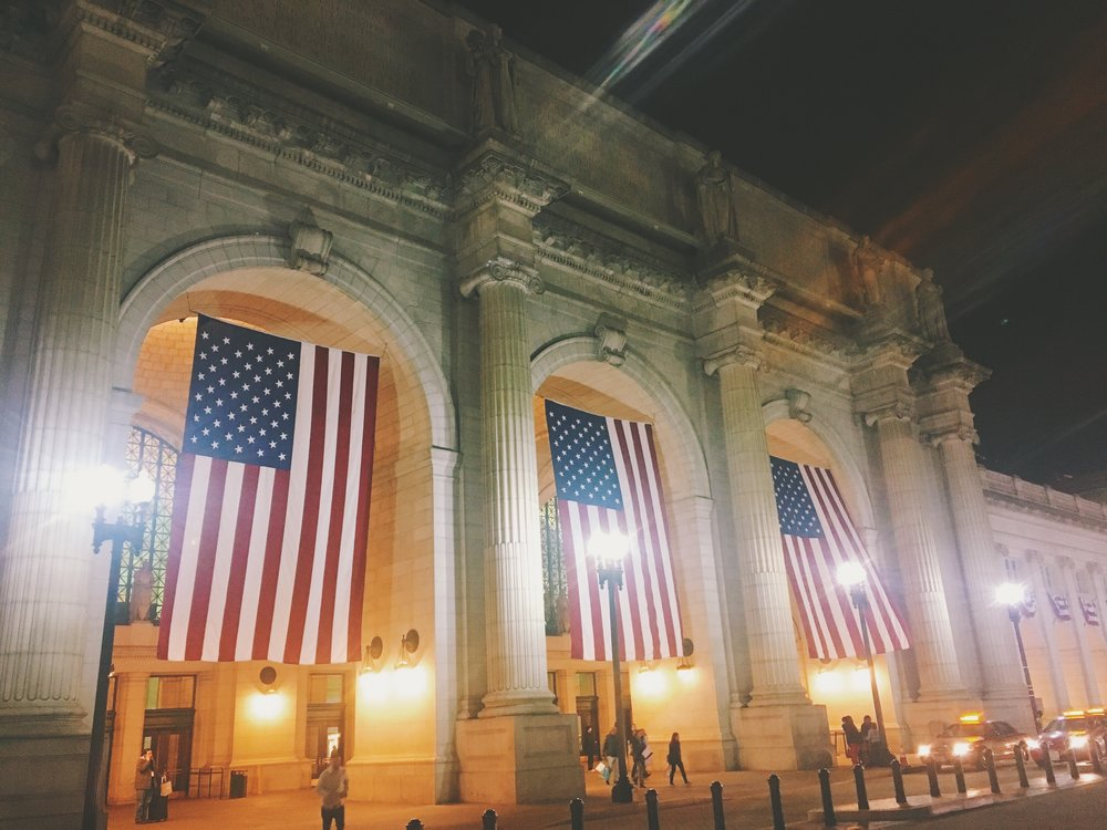 washington dc train station