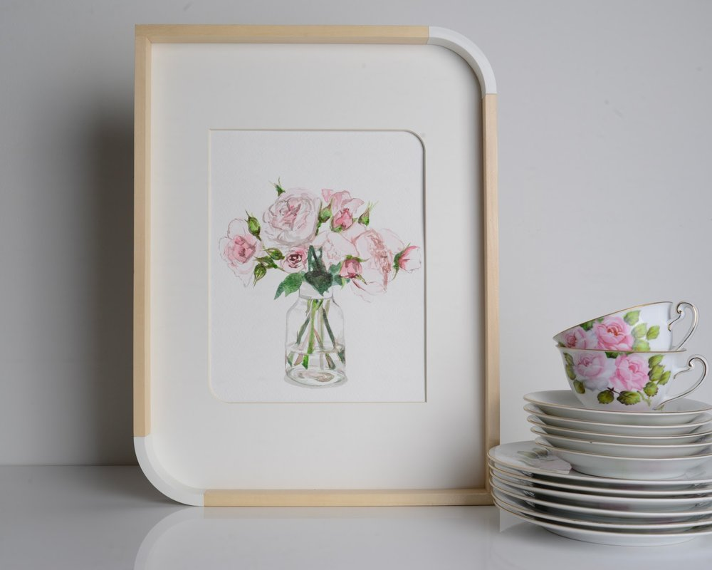 sincerely ashley | jasmine wisz painting-floral
