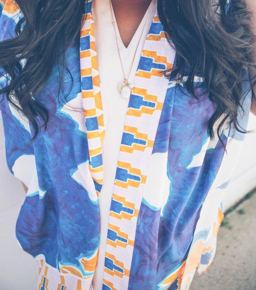 sincerely ashley | anthropologie-kimono