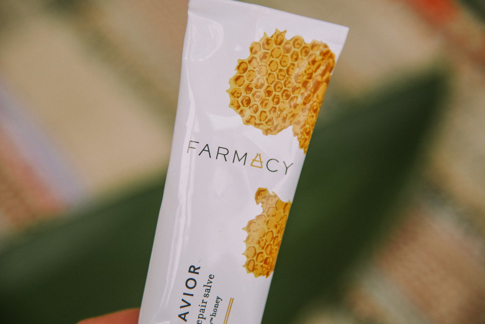 Honey Savior | Superhero Serum - This was the first Farmacy product that I tried and remains one of my favorites. I always have a tube of this in my bag since it's so versatile. You can use it on dry skin (#winterhands), as a lip balm, on minor cuts/irritations, and as a calming balm for static ridden hair. This is a multi-faceted, superhero level fix all. VITALS:• 132 nutrients including amino acids, antioxidants, and vitamins • Contains Farmacy's Echinacea GreenEnvy™ honey which is an ancient, natural way to treat wounds and heal skin irritation from sunburn to scrapes.